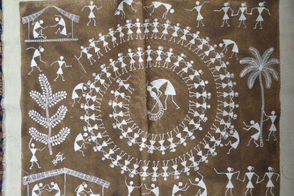 Warli Painting - Asiatica Foth