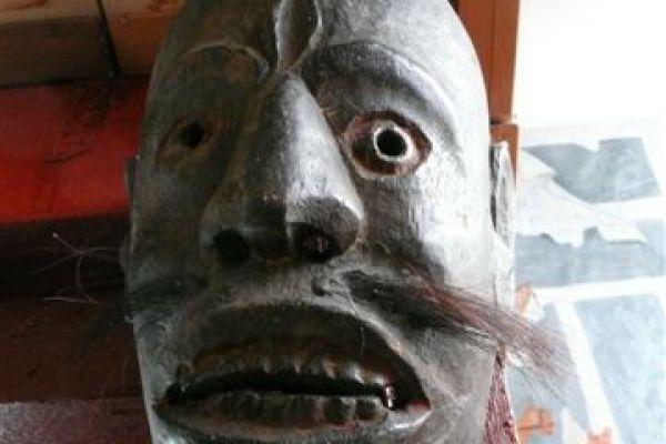 Maske Nagaland - Asiatika Foth