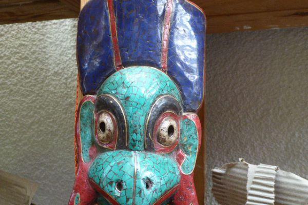 Garudamaske - Asiatica Foth