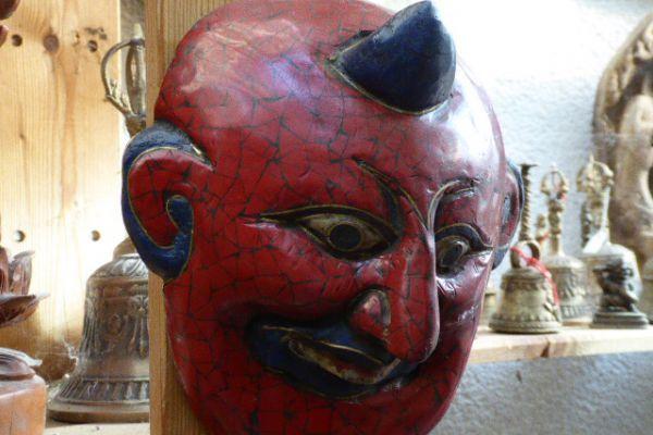 Maske - Asiatica Foth