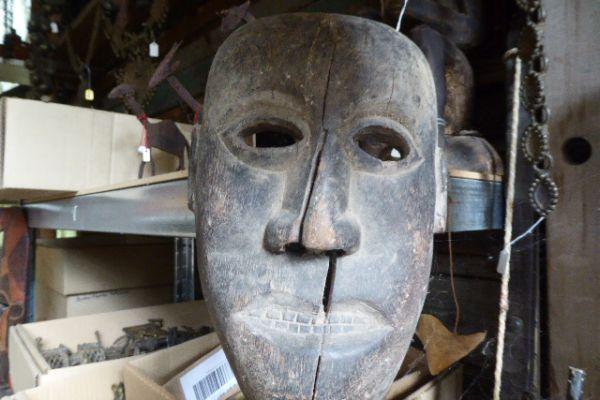 Maske aus Bastar - Asiatica Foth