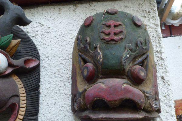Garuda Maske - Tibet